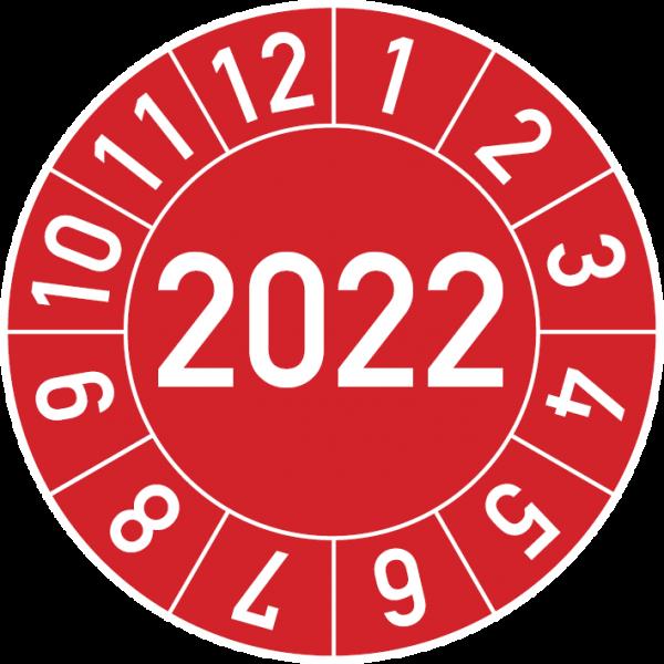 Jahresprüfplakette 2022