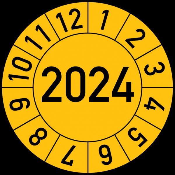 Jahresprüfplakette 2024