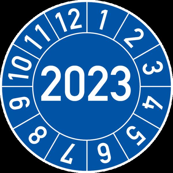 Jahresprüfplakette 2023